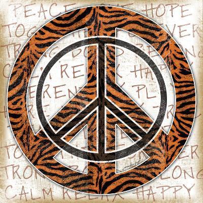 Peace Tiger-Jennifer Pugh-Art Print