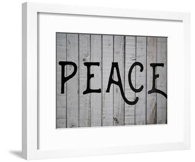 Peace-Jelena Matic-Framed Art Print