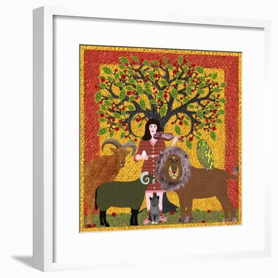 Peaceable Kingdom 12-David Sheskin-Framed Premium Giclee Print