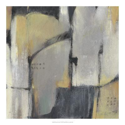 Peaceful Abstract I-Julie Silver-Giclee Print