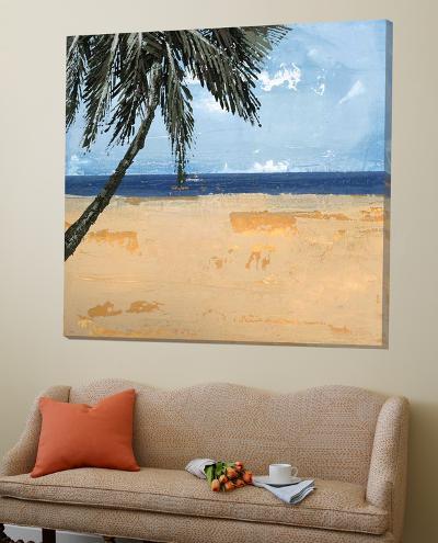 Peaceful Beach 1-David Dauncey-Loft Art