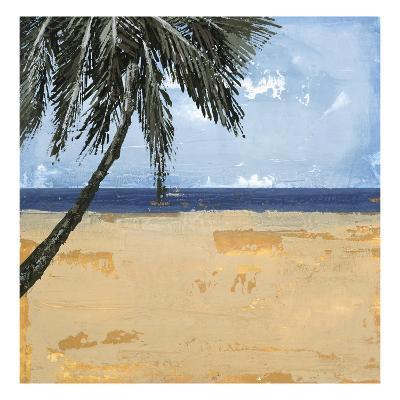 Peaceful Beach 1-David Dauncey-Premium Giclee Print