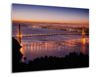 Peaceful Early Morning at Golden Gate Bridge-Vincent James-Metal Print