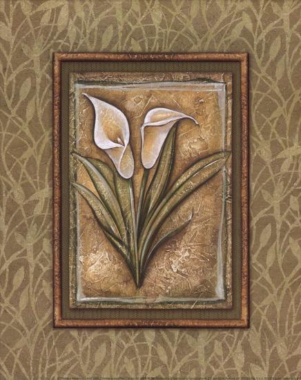 Peaceful Flowers IV - Mini-Charlene Audrey-Art Print