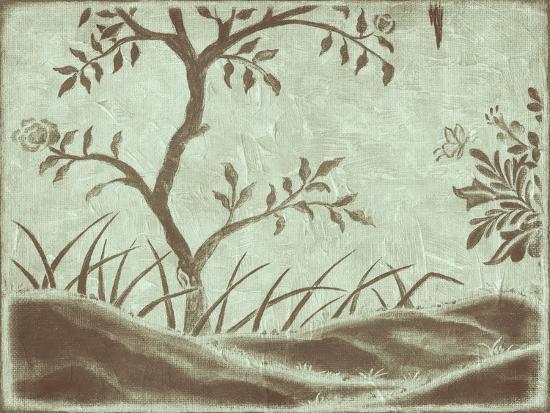 Peaceful Garden IV-Nancy Slocum-Art Print