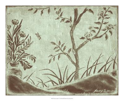 Peaceful Garden VI-Nancy Slocum-Giclee Print