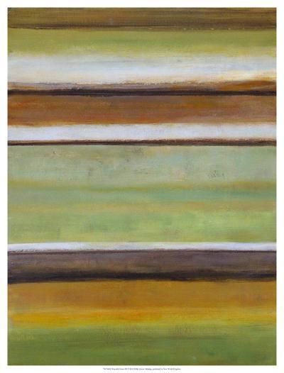 Peaceful Green III-W^ Green-Aldridge-Giclee Print