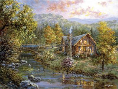 Peaceful Grove-Nicky Boehme-Giclee Print