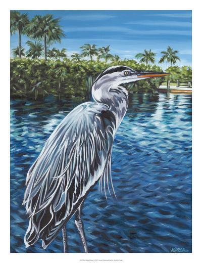 Peaceful Heron I-Carolee Vitaletti-Art Print