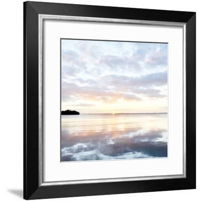 Peaceful Lake-Bruce Nawrocke-Framed Photo