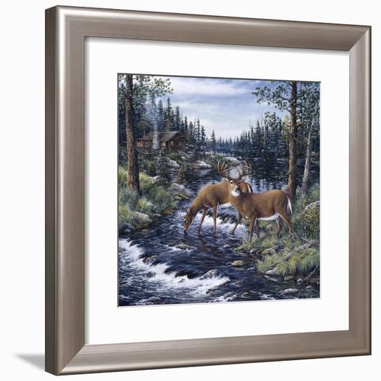 Peaceful Morning-Jeff Tift-Framed Giclee Print
