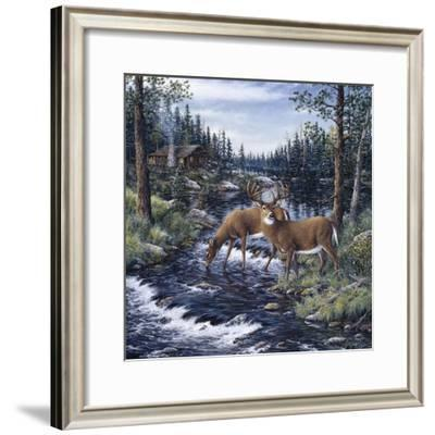 Peaceful Morning-Jeff Tift-Framed Giclee Print