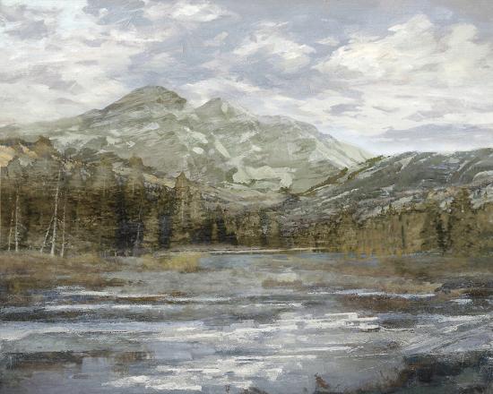 Peaceful Mountains-Mark Chandon-Giclee Print