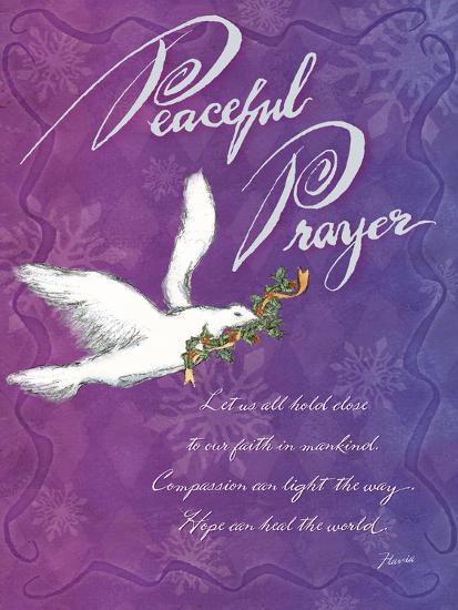 Peaceful Prayer-Flavia Weedn-Giclee Print