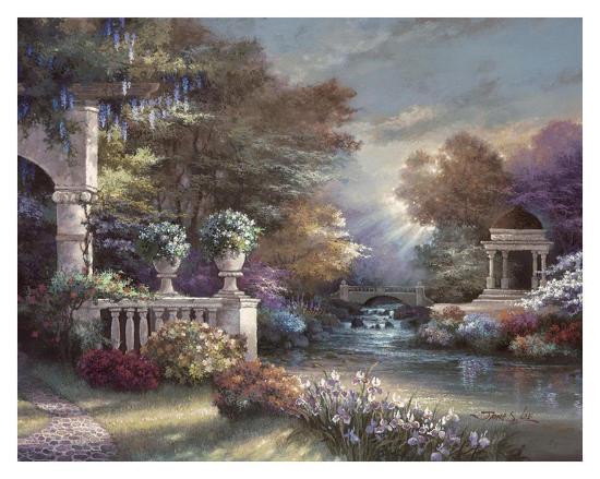 Peaceful Song-James Lee-Art Print