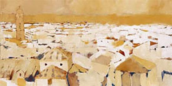 Peaceful Village II-Jesus Barranco-Art Print