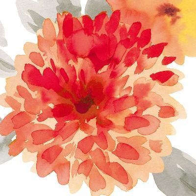 Peach Flower I-Sandra Jacobs-Art Print