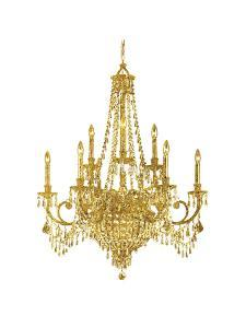 Chandelier by Peach & Gold