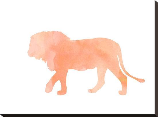 peach-gold-coral-lion