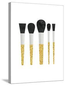 Gold Makeup Brushes by Peach & Gold