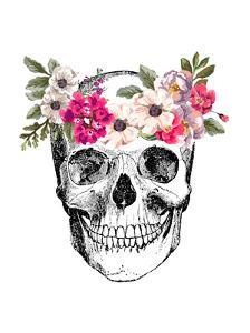 Skull by Peach & Gold