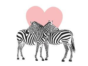 Zebra by Peach & Gold