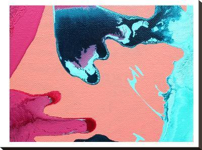 Peach & Pink-Deb McNaughton-Stretched Canvas Print