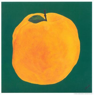 Peach-Urpina-Art Print