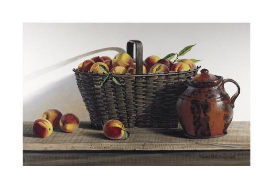 Peaches and Cream-Pauline Ebl? Campanelli-Art Print