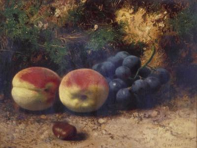 Peaches and Grapes, 1864-George Walter Harris-Giclee Print