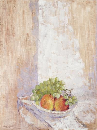 Peaches and Grapes, 1993-Diana Schofield-Giclee Print