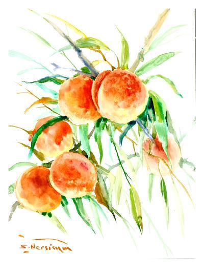 Peaches2-Suren Nersisyan-Art Print