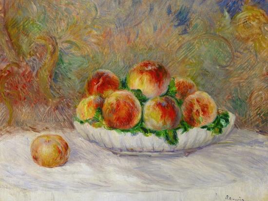 Peaches-Pierre-Auguste Renoir-Giclee Print