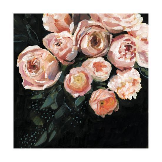 Peachy Blooms II-Victoria Borges-Art Print