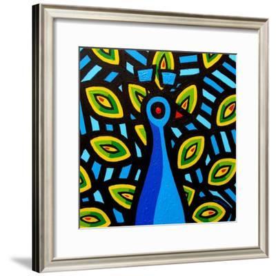 Peacock 1-John Nolan-Framed Giclee Print