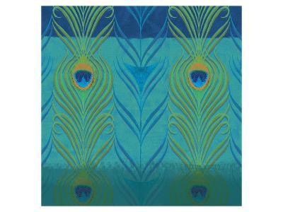 Peacock Bath VI-Alan Hopfensperger-Art Print