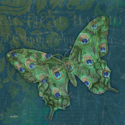 Peacock Bfly 1-Diane Stimson-Art Print