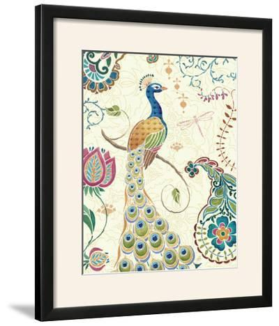 Peacock Fantasy II-Daphne Brissonnet-Framed Photographic Print