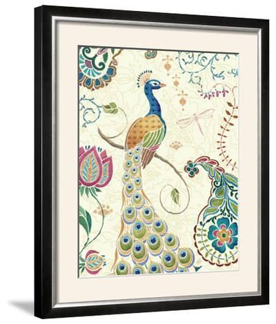 Peacock Fantasy II-Daphne Brissonnet-Framed Photographic Print