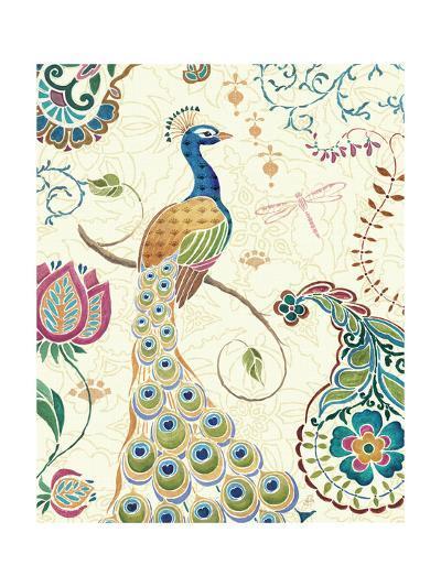 Peacock Fantasy II-Daphne Brissonnet-Art Print