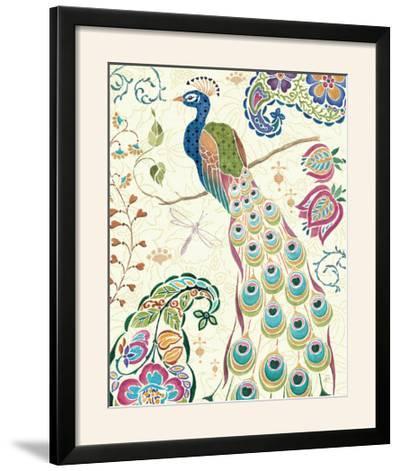 Peacock Fantasy III-Daphne Brissonnet-Framed Photographic Print