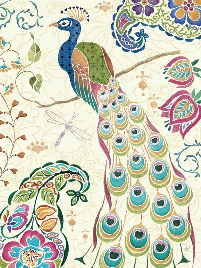 Peacock Fantasy III-Daphne Brissonnet-Premium Giclee Print
