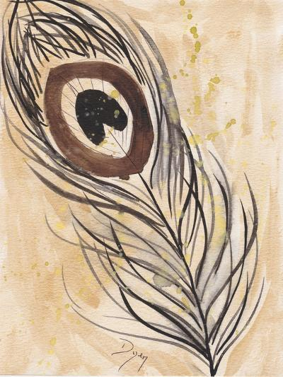 Peacock Feather 2-Beverly Dyer-Art Print