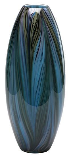 Peacock Feather Vase--Home Accessories
