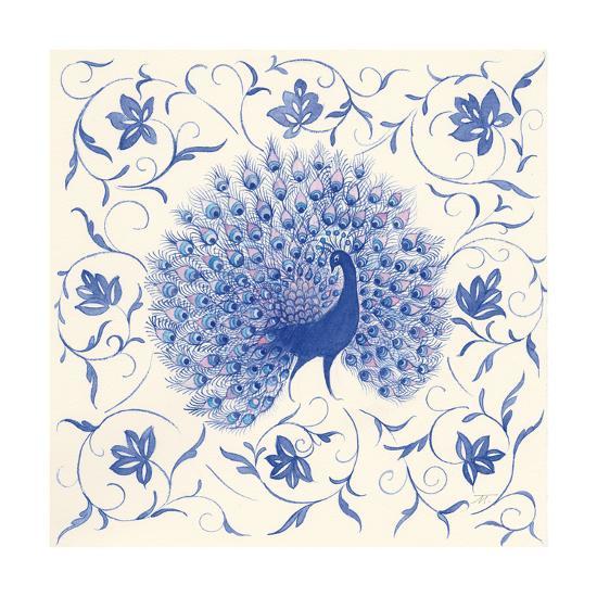 Peacock Garden I-Miranda Thomas-Art Print