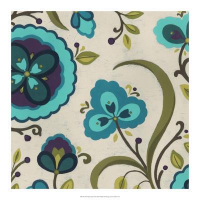 Peacock Garden II-Erica J^ Vess-Giclee Print