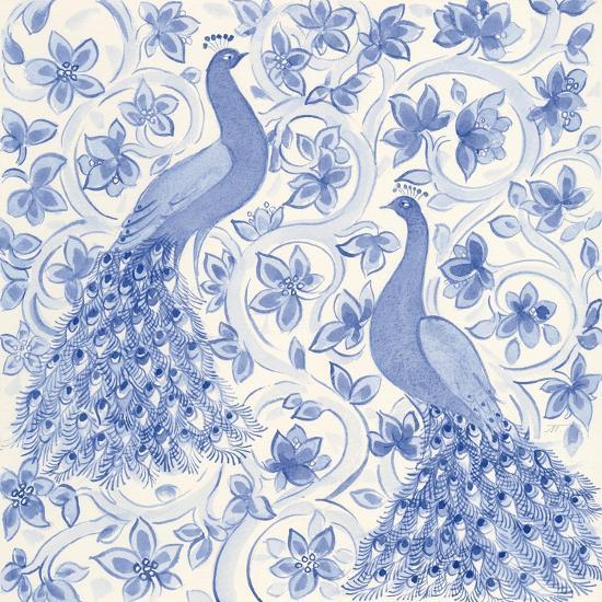 Peacock Garden II-Miranda Thomas-Art Print