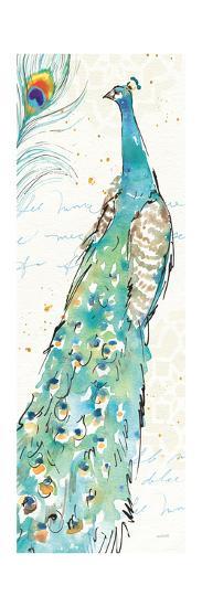 Peacock Garden III-Anne Tavoletti-Art Print