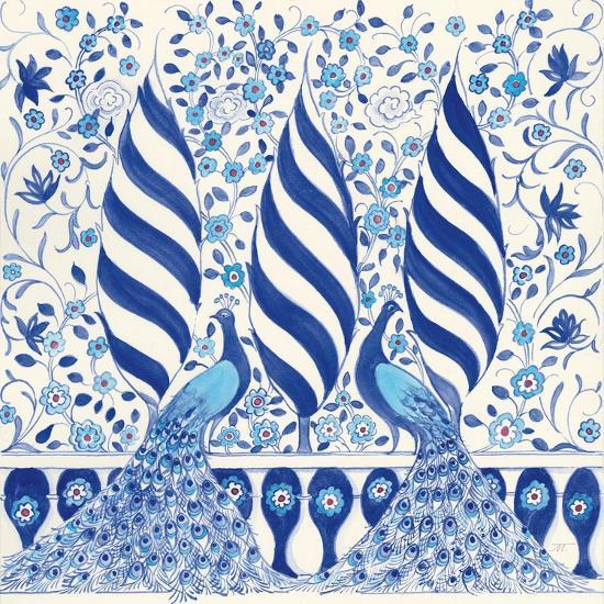 Peacock Garden V-Miranda Thomas-Art Print