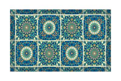 Peacock Paradise VII-Veronique Charron-Art Print